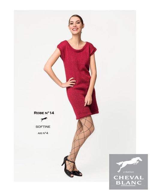 Free Cheval Blanc pattern - Dress - Cat. 25-14