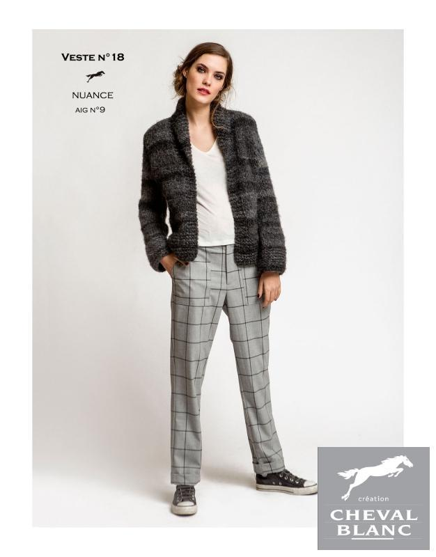 Free Cheval Blanc pattern - Jacket - Cat. 25-18