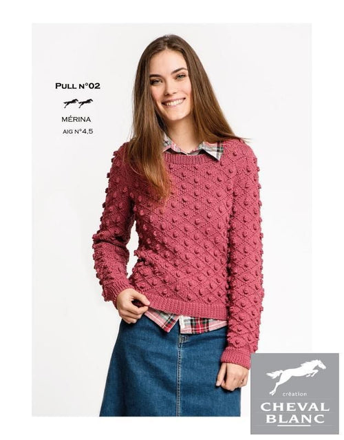 Free Cheval Blanc pattern - Pull - Cat. 25-02