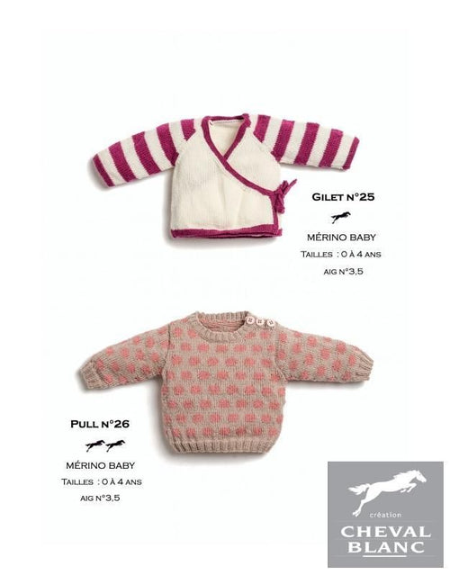 Free Cheval Blanc pattern - Cardigan - Cat. 25-25