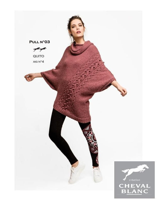 Free Cheval Blanc pattern - Jumper - cat. 25-03