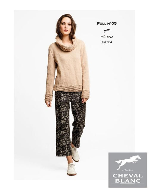 Free Cheval Blanc pattern - Jumper - Cat. 25-05