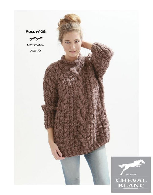 Free Cheval Blanc pattern - Jumper - Cat. 25-08