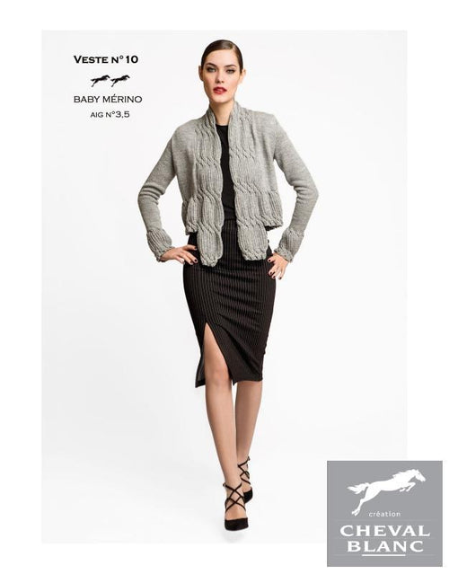 Free Cheval Blanc pattern - Jacket - Cat. 25-10