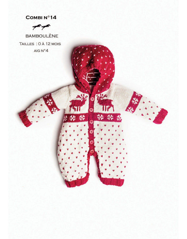 Cheval Blanc pattern Cat. 31, No 14 -One piece for Baby - Up to 0 to 12 months