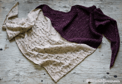 Champs Fleuri (Flowered Fields) Shawl Pattern