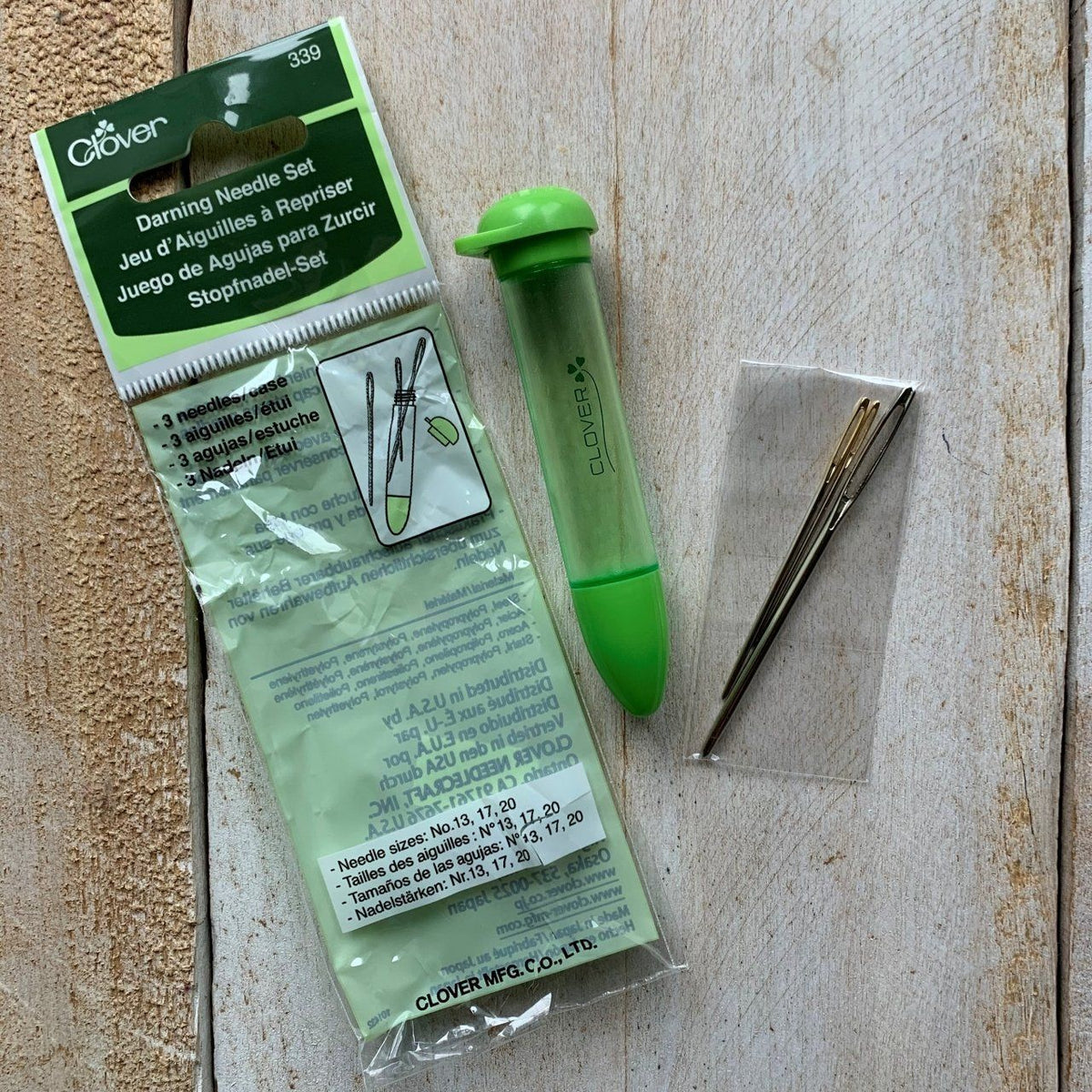 CLOVER - 3 Darning Needle Sets