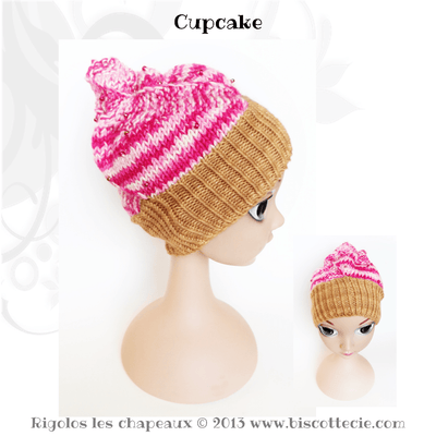Rigolos children's hats Ebook - 8 knitting patterns - Biscotte yarns