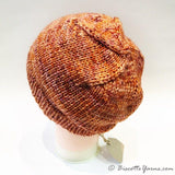Camille's hat pattern with DK Pure yarn - Biscotte yarns  - 3