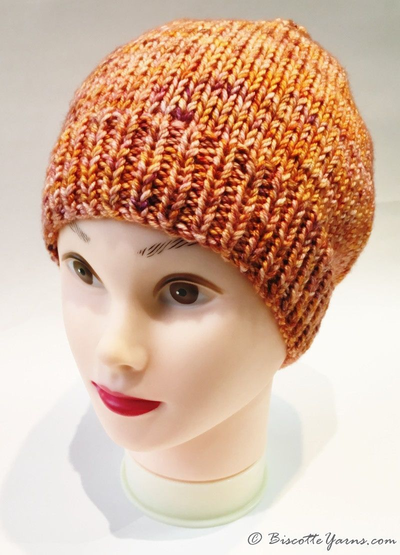 ... Camille s hat pattern with DK Pure yarn - Biscotte yarns ... a3dec7a0e24