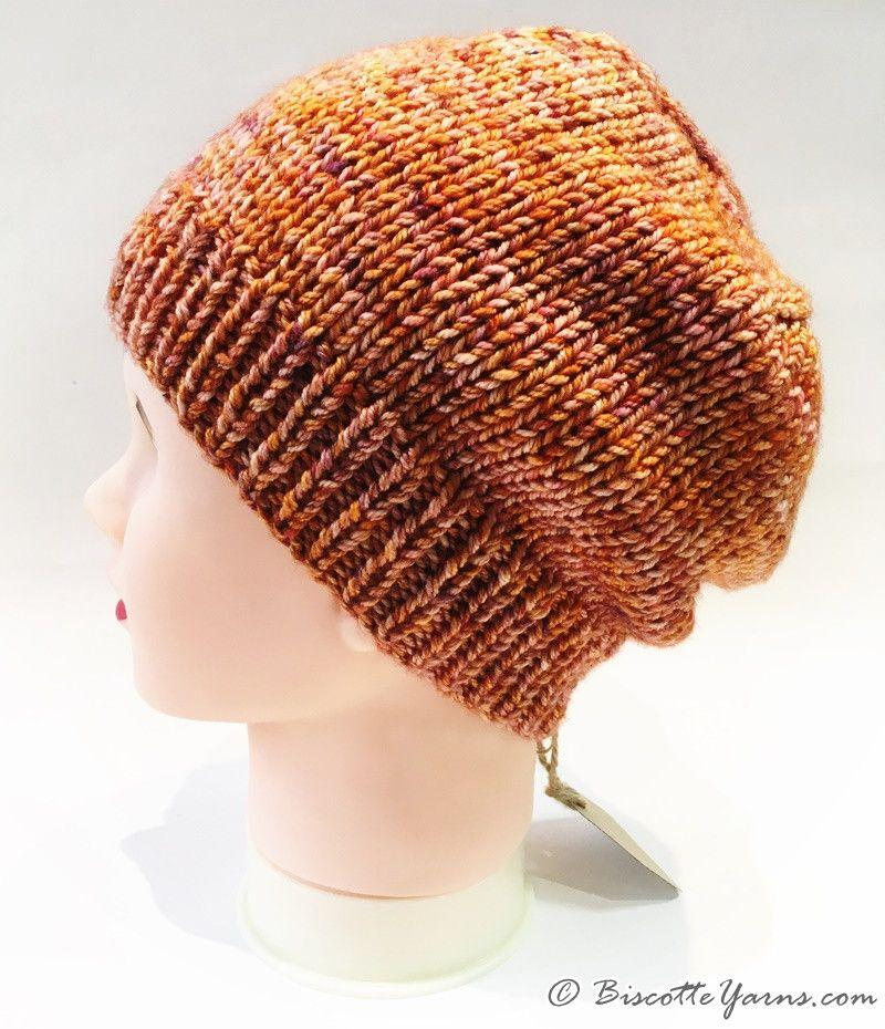 ... Camille s hat pattern with DK Pure yarn - Biscotte yarns 5c88bb76a9c