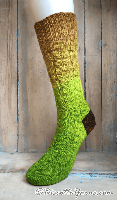 Mother Nature Socks | Free Knitting Pattern