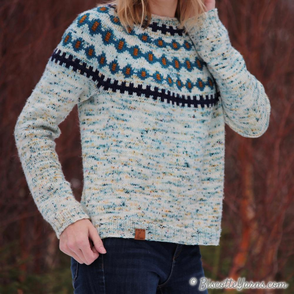Jigs and Reels | Fairisle Yoke Free Pattern