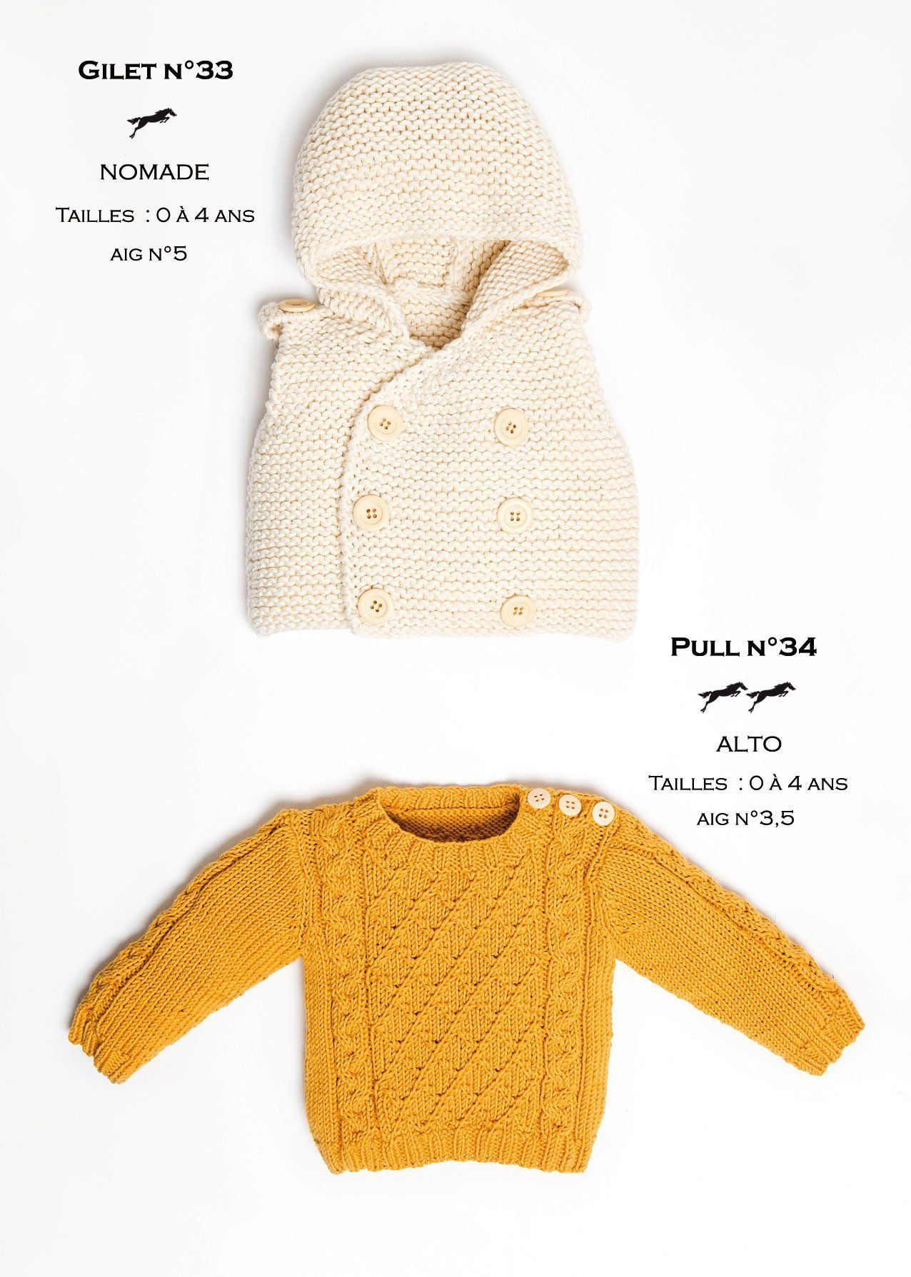 Free Cheval Blanc pattern - Cardigan cat.24-33