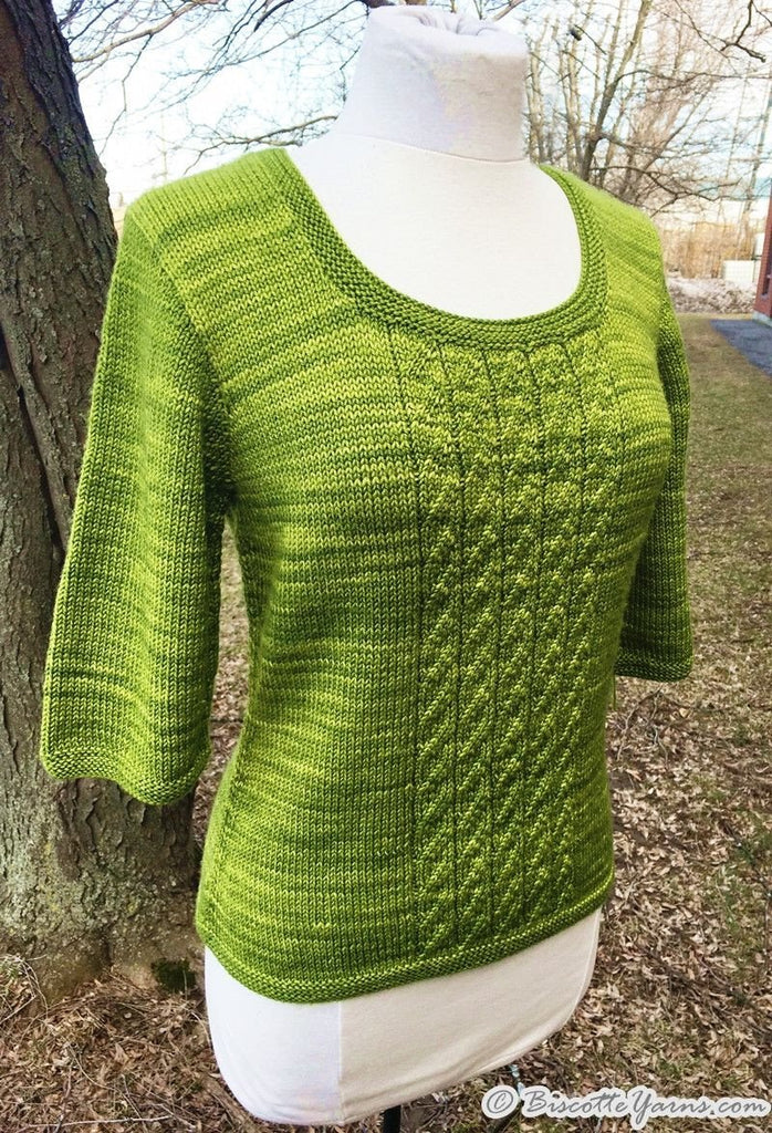Knitting pattern ♥ Sunset Breeze sweater
