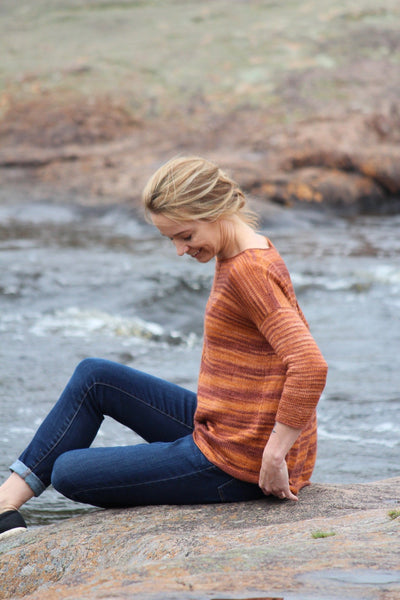 Autumn Breeze free sweater pattern