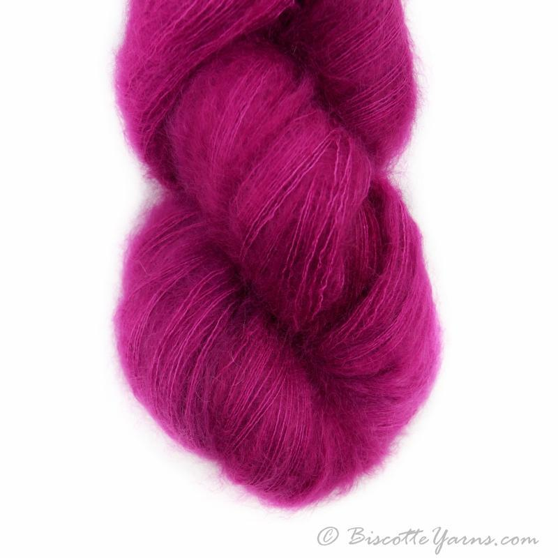 Hand-Dyed Kid Silk Yarn | Hermione BETTERAVE  |  50g