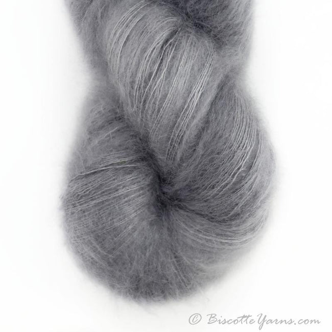 Hand-Dyed Kid Silk Yarn | Hermione GRIS-GRIS  | 100g or 50g
