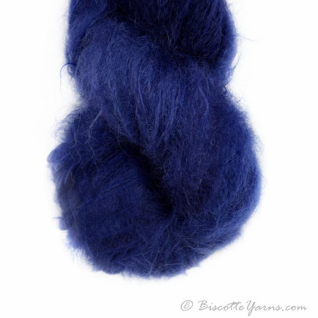 Hand-Dyed Kid Silk Yarn | Hermione NUIT  | 100g or 50g
