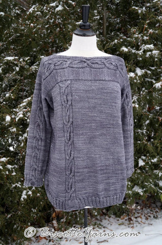 Knitting pattern ♥ Belle Lurette sweater