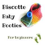 Baby Booties pattern - Biscotte yarns