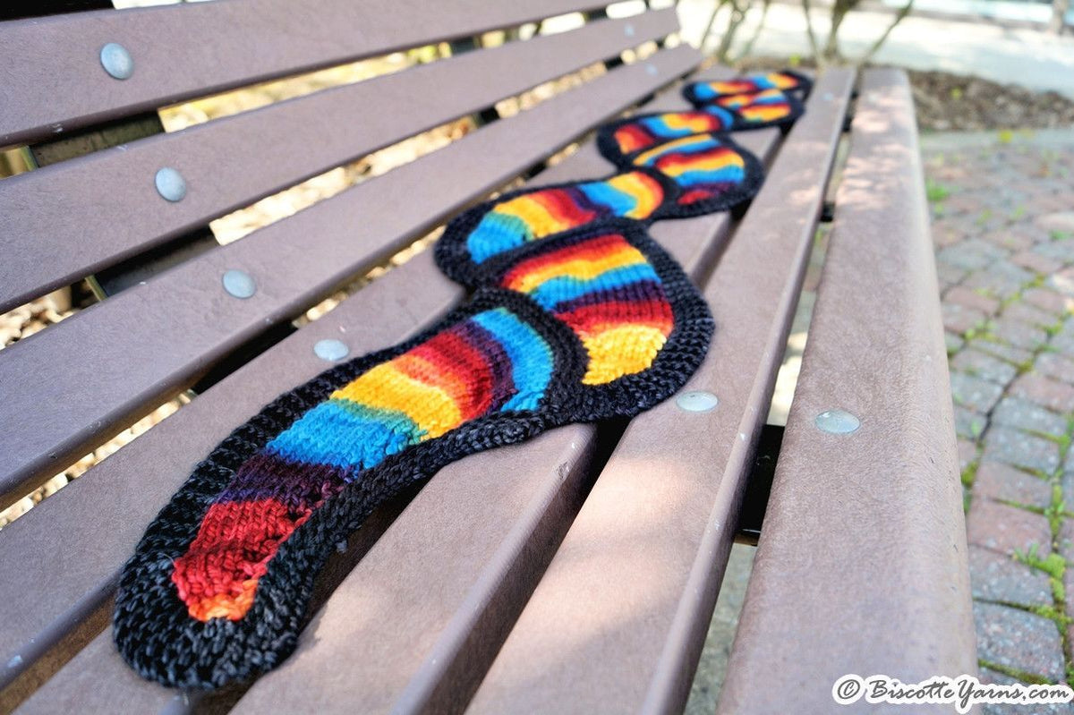 Knitting pattern - Biscotte's Serpentine - Biscotte yarns