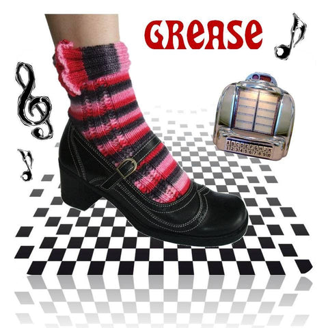 Sock pattern Grease