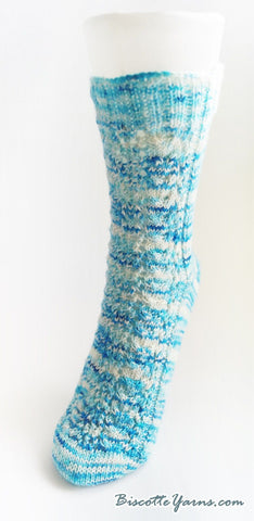 Free sock pattern - River Cross