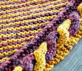 Golden Snitch Shawl knitting pattern - Biscotte yarns  - 4