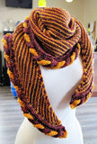 Golden Snitch Shawl knitting pattern - Biscotte yarns  - 7