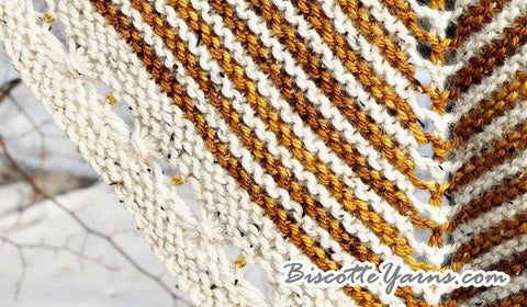 Rubeus Shawl knitting pattern