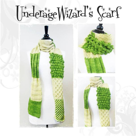 Underage Wizard's scarf pattern