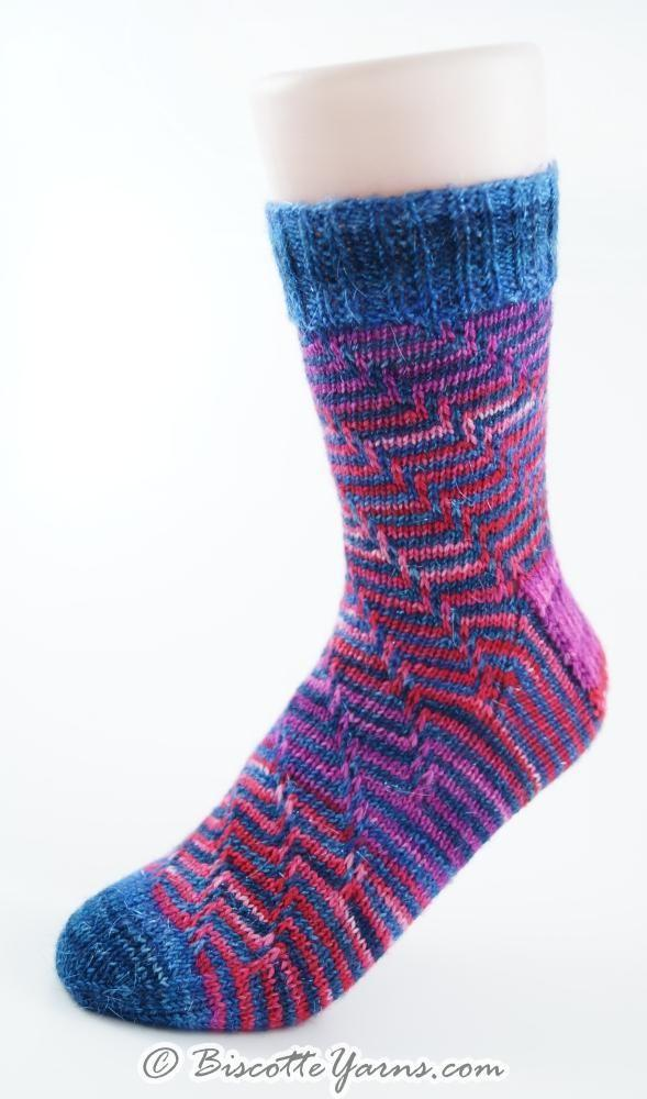 The Illusionist | Free Sock Pattern