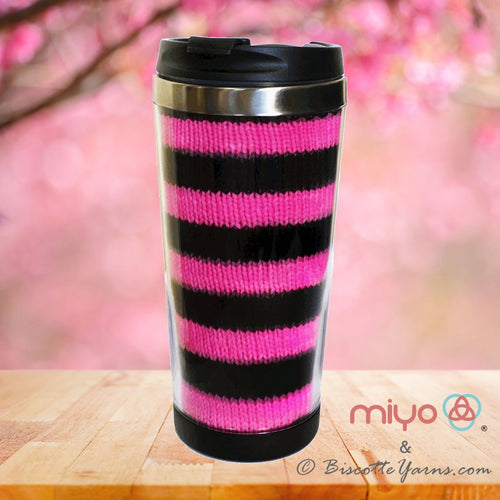 Pattern Knit Biscotte Cup: knit the perfect knitting mug