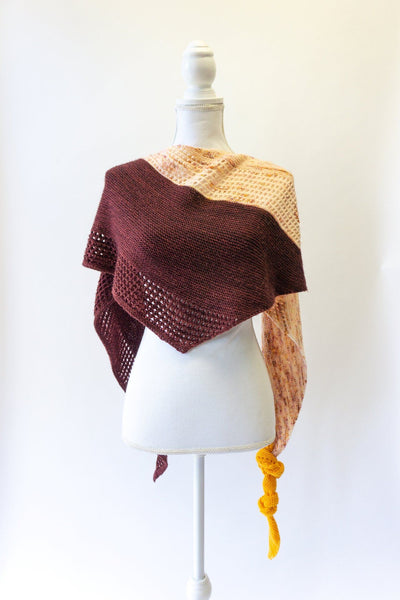MAGIC SPRING SHAWL knitting kit by Katerina Bobkova
