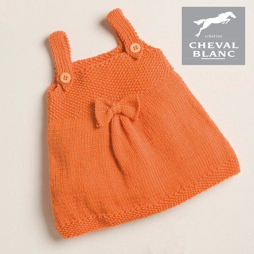 Free Cheval Blanc pattern - Baby dress cat.14-42