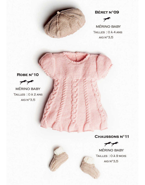 Cheval Blanc pattern Catalogue 31 No 10 - Dress - baby dress for 0 to 2 years