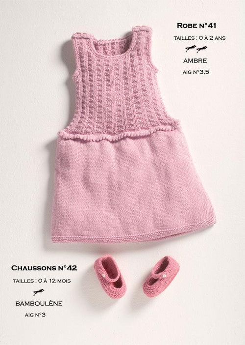 Free Cheval Blanc pattern - Baby booties cat. 12-42