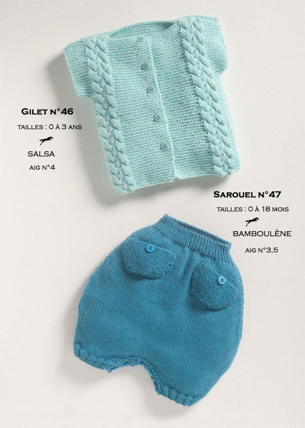 Free Cheval Blanc pattern - Pants for baby cat. 12-47