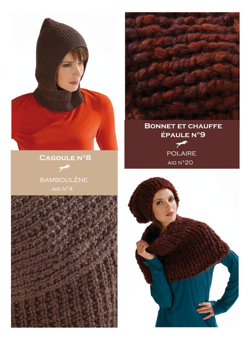 Free Cheval Blanc pattern - Cowl cat.17-08