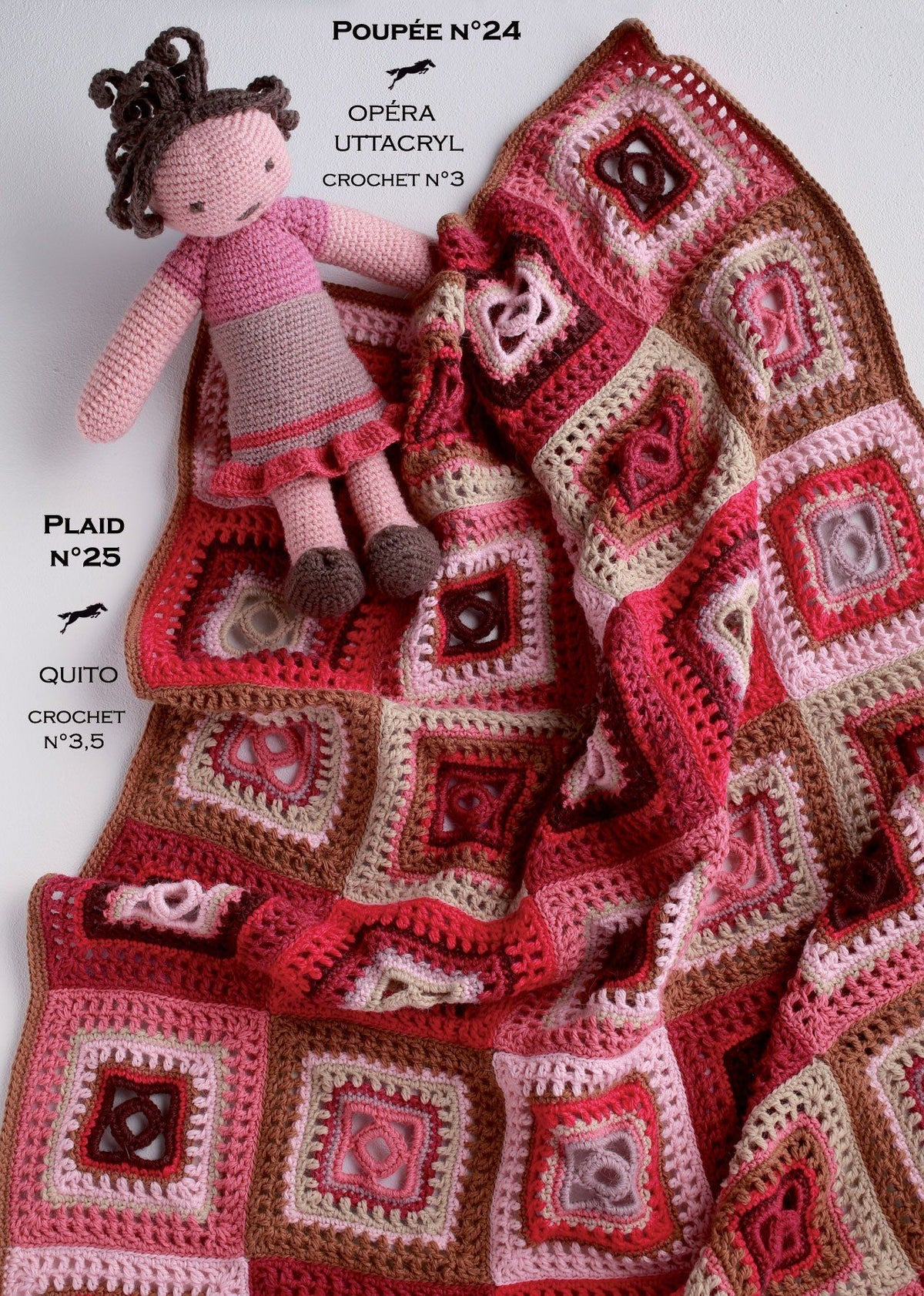 Free Cheval Blanc pattern - Plaid cat.17-25