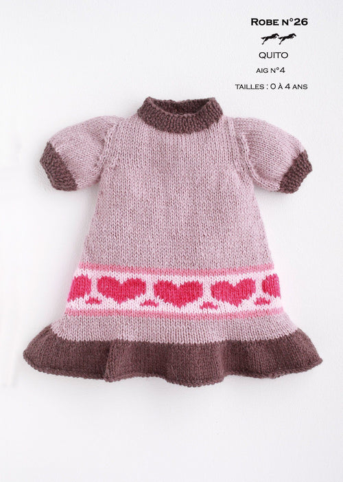 Free Cheval Blanc pattern - Girl's dress cat.17-26