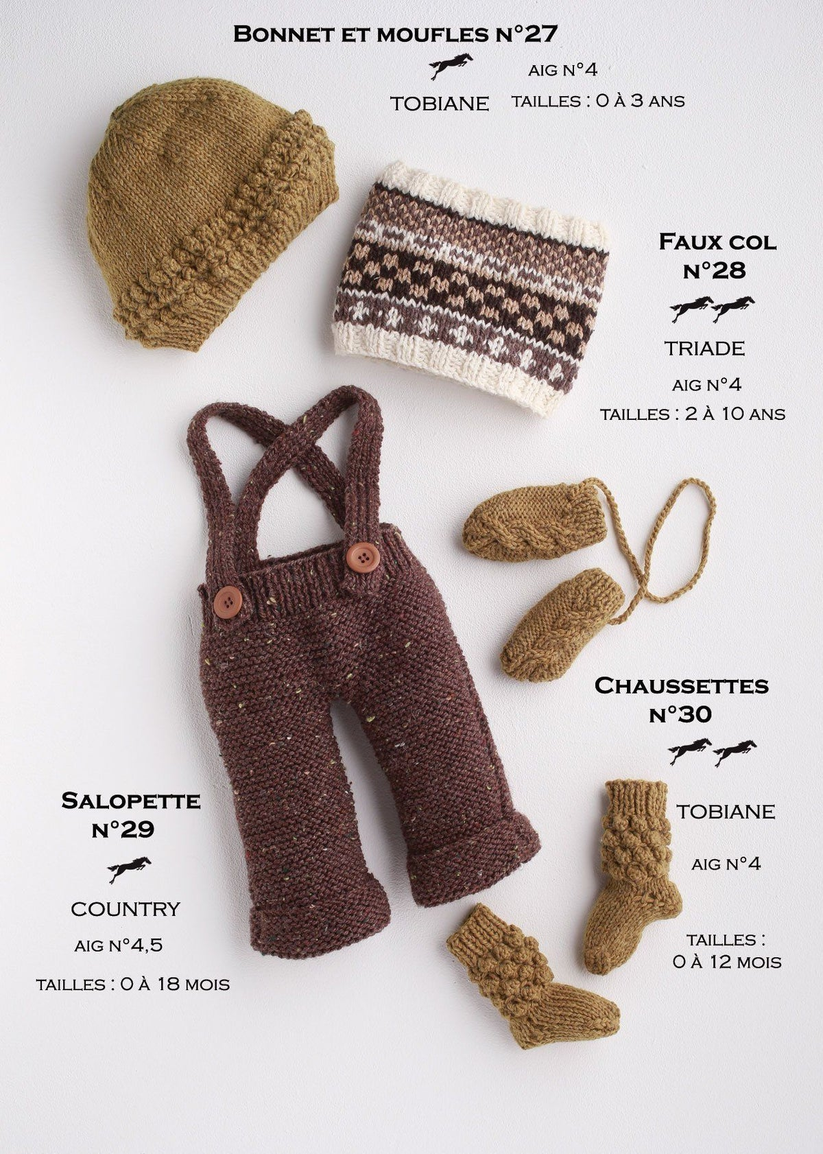 Free Cheval Blanc pattern - Overalls for baby cat.17-29
