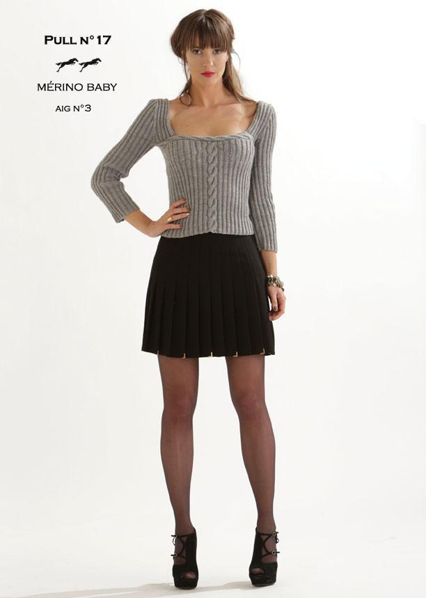 Free Cheval Blanc pattern - Women's sweater cat.19-17