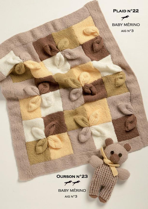 Free Cheval Blanc pattern - Teddy Bear cat.19-23