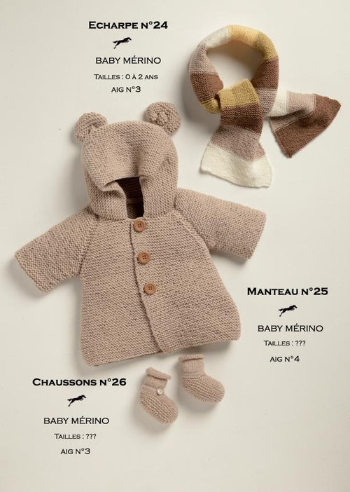 Free Cheval Blanc pattern - Coat for child cat.19-25