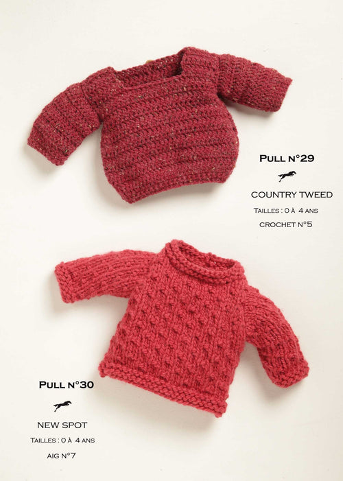 Free Cheval Blanc pattern - Sweater for child cat.19-29