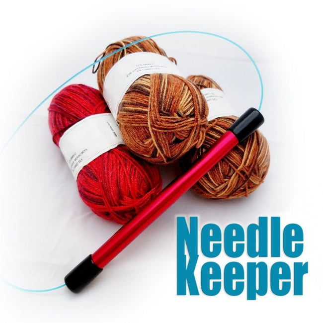 Needle Keeper - The Magic Wand for Knitters - Biscotte yarns