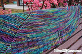 Palmer House Shawl FREE pattern - Biscotte yarns  - 1