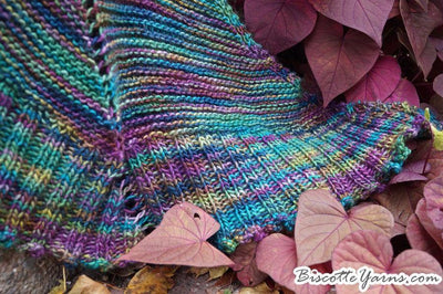 Palmer House Shawl FREE pattern - Biscotte yarns